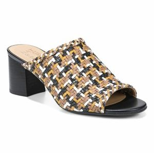 Naturalizer Analise Tan Multi Leather Sandals Wome